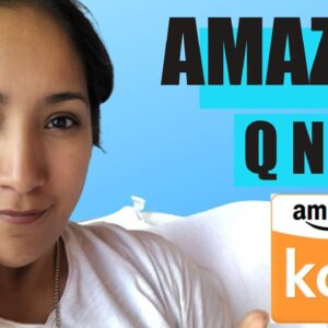 Amazon Expert Answers Your Top Questions On How To Sell On Amazon KDP, Merch And FBA
