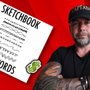 Profitable KDP Activity Book Niche - SKETCHBOOK Low Content Books To Make Money at Home