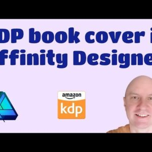 Affinity Designer: Create KDP Book Cover PDF with Spine Text