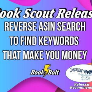 Book Scout from BookBolt - Keyword Research Tools for Low Content Books