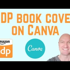 Creating a PDF Book Cover on Canva for Amazon KDP – with Spine Text!