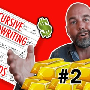 #2 - Creating a Cursive Handwriting KDP Interior with FREE Font - the $15000 Golden Niche