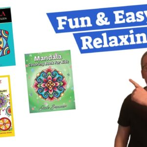 How to Draw Mandala for Beginners and Make Money Selling Coloring Books on Amazon KDP