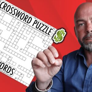 Crazy Crossword KDP Puzzle Books - Niche Analysis Keywords and More to Make Money at Home
