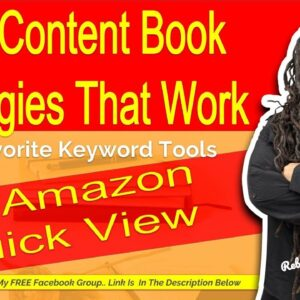 DS Amazon Quick View- Keyword Research Tools for Low Content Books