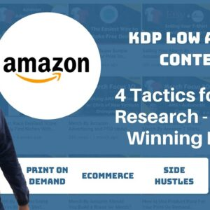 KDP Niche Research Four Strategies For Finding Winning Low Content Book Niches