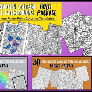 Exclusive Coloring Book Packages - I Hired a Designer! GET Yours TODAY