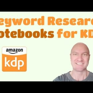 Keyword or Niche Research on Amazon for Notebooks and Low Content Books