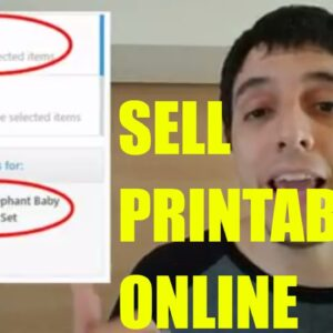 Here Is Why Selling Printables Online Is a Great Niche - Day 2
