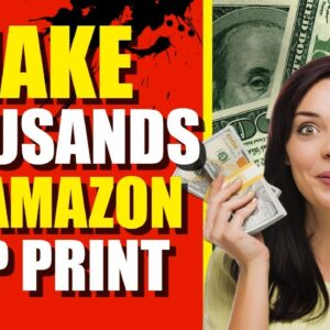 How Much Could You Make With KDP Print?? (Make Money Online W/ Amazon)