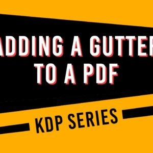 How to Add a Gutter Margin to a PDF in Adobe Acrobat