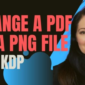 How To Change A PDF Into A Png File on Tangent Templates