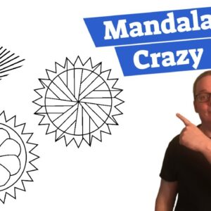 How To Create A Mandala Online To Make A Coloring Book For Amazon
