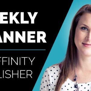 How to Create a Weekly Planner in Affinity Publisher