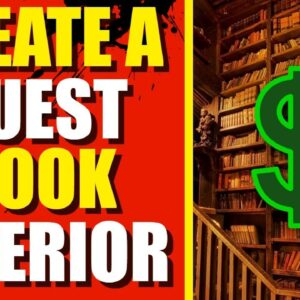 How To Create Interiors For Low Content Books (Guest Books)