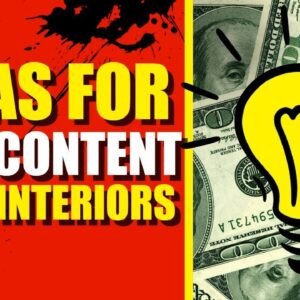 How To Get Ideas For Your Low Content Book Interiors