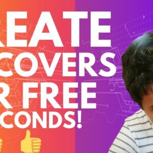How To Make 3D Book Covers For Free In 4 Seconds