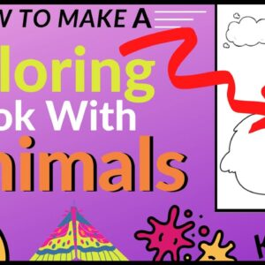 How to Make a Coloring Book with Animals (KDP Publishing Tips)