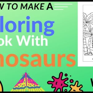 How to Make a Coloring Book with Dinosaurs - KDP Low Content Publishing