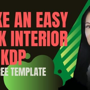 How to make a KDP book interior in Canva