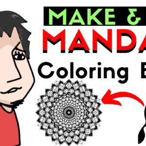 How To Make And Sell KDP Mandala Adult Coloring Books For Free