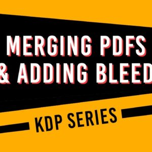 How to merge PDFs of different sizes and make them the same size