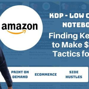 Keyword Research for KDP Low Content Books 2019 - 6 Strategies