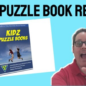 KidZ Puzzle Book Review | BONUS | How To Create Low Content Books