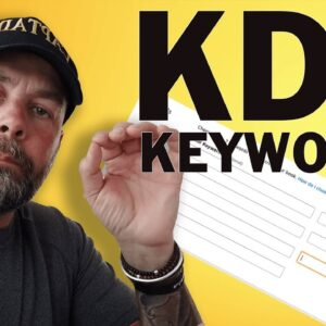 How to Fill in the 7 KDP Backend Keywords - KDP Low Content Book Keyword Strategy
