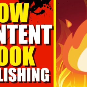 Low Content Book Publishing Is Fire 🔥🔥