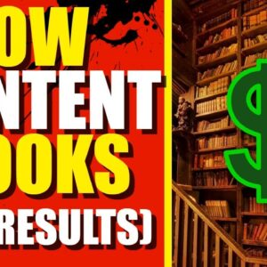 Low Content Book Publishing (My Results So Far) Make Money Online