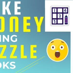 Make Money Selling Puzzle Books [Low Content Publishing]