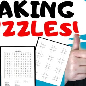 Making Puzzles | Puzzle Book Tutorial