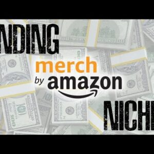 Merch By Amazon: Find Profitable T-shirt Niche Ideas FAST!