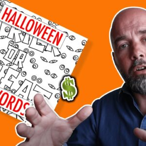 KDP Halloween Coloring Books - How to Create and Profit with Low Content Books in Q4