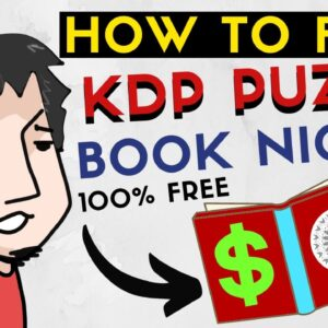 Find Profitable KDP Low Content Puzzle And Activity Book Niches For Free