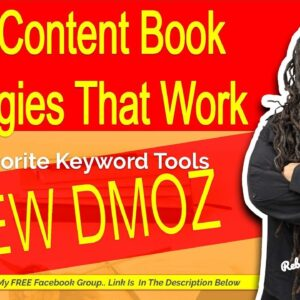 New DMOZ - Keyword Research Tools for Low Content Books