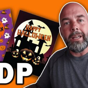 Create Halloween KDP Book Cover Designs FAST in Illustrator for No and Low Content Publishing