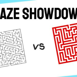 How To Create Puzzle Books | MAZES | MazeGenerator net vs Simply Maze Crazy