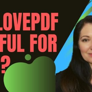 Pdf Converter Tool Review  - Is ILOVEPDF useful for Amazon KDP?