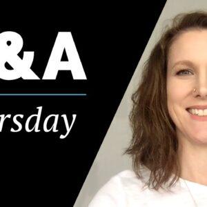 Q&A Thursday Episode 1