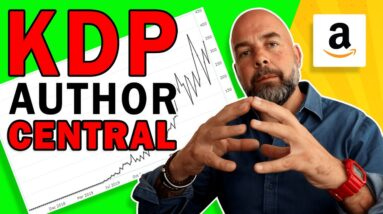 How to Create an Amazon Author Central Page to Sell More KDP Low Content Books