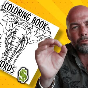 Cool Amazon KDP Coloring Books - Keywords and Interiors to Make Money Online with Publishing