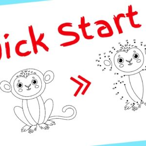 Dot to Dot Book Puzzle Books KDP | How To Get Started with Low Content Publishing