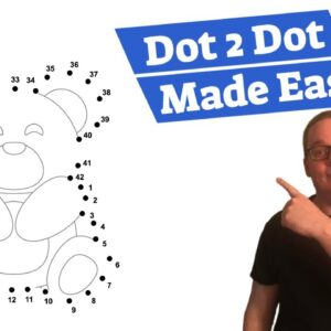 KDP Activity Books Dot to Dot Low Content Made Easy [MAGIC ERASER] with Puzzle Publishers Membership