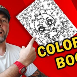 How to Create a Coloring Book Interior for KDP with FREE Software and Make $