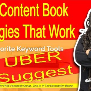 Uber Suggest - Keyword Research Tools for Low Content Books