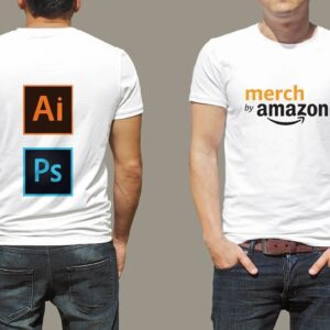 Complete Course: Photoshop and Illustrator for Merch By Amazon and Print On Demand