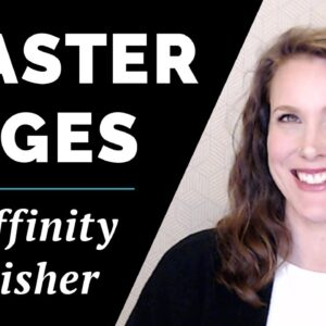 Using Master Pages in Affinity Publisher | Low-Content Books