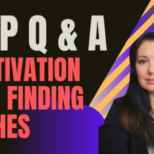 Finding Low Content Book Niches - Q & A on starting KDP, motivation and niche finding